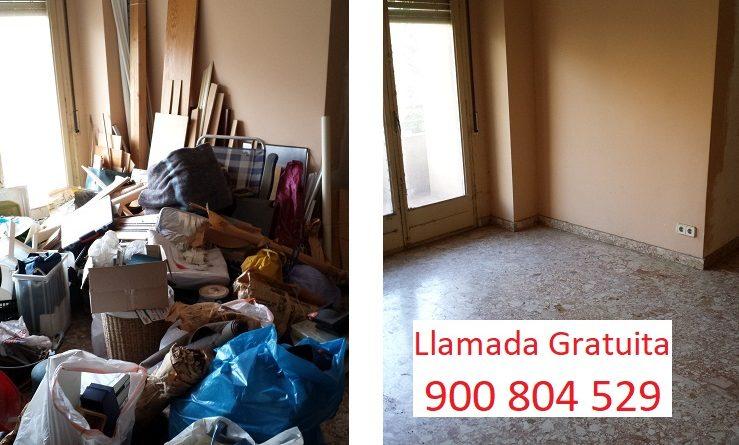 Vaciado de pisos Barcelona ONG