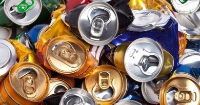 ¿Cuánto pesa una lata de aluminio?