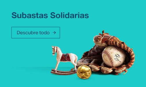 Subastas Solidarias cada semana