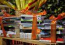 Donación de libros para la diada de Sant Jordi