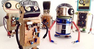 BichoRobot = Arte con Residuos en Barcelona